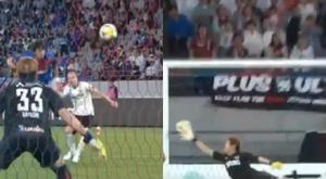 Iniesta once again scored a fabulous goal. Captura/Twitter
