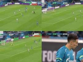 Kranevitter anotó su primer gol. Captura/MAT4