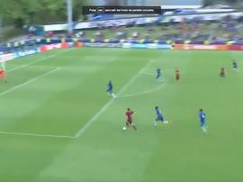Parecida jugada a la de la final de Copa del Rey. Captura/beINSports