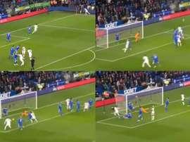 Matt Doherty abrió el marcador ante el Cardiff City. Captura/SportTV