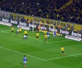 Locura en el Signal Iduna Park. Schalke