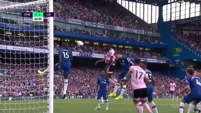 Y tras fallar en el gol del Chelsea, Ndidi se redimió Captura/DAZN