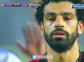 Salah llevó la locura a todo Egipto con su decisivo tanto. Captura