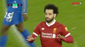 Salah equalised. ESPN