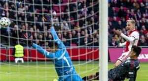 Van de Beek, goleador. Twitter/AFCAjax