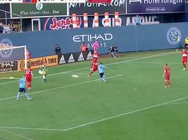 Villa puso el 2-0. Twitter/MLS