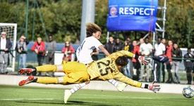 Le Real Madrid ne va pas aller en Italie pour la Youth League. Twitter/PSG