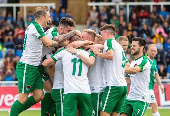 El Cork está a dos triunfos de ser campeón de Irlanda de Liga y Copa. CorkCity