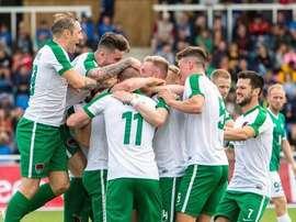 Resumen de la jornada de los equipos irlandeses en la Europa League. CorkCity