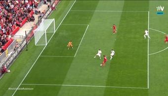 El Liverpool no contó con todas sus figuras principales para el encuentro. Captura/Vamos