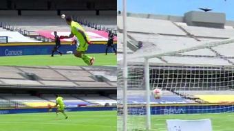 Mendoza metió un señor gol. Capturas/TUDN