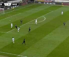 Luiz Gustavo marcó a placer en propia. Captura/RMCSport
