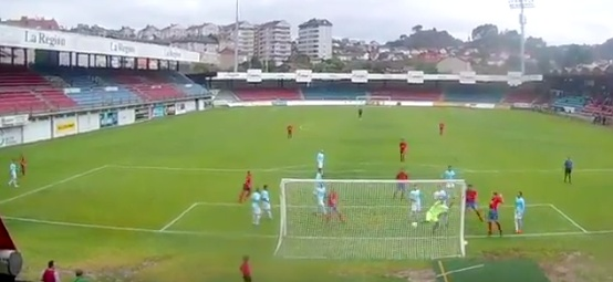 Otro golazo olímpico en esta jornada, esta vez en la Preferente Galicia. Twitter