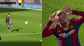 Griezmann marcó un golazo. Capturas/Movistar+LaLiga
