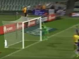 Diego Castro marcó este golazo en la Liga de Australia con el Perth Glory. Youtube