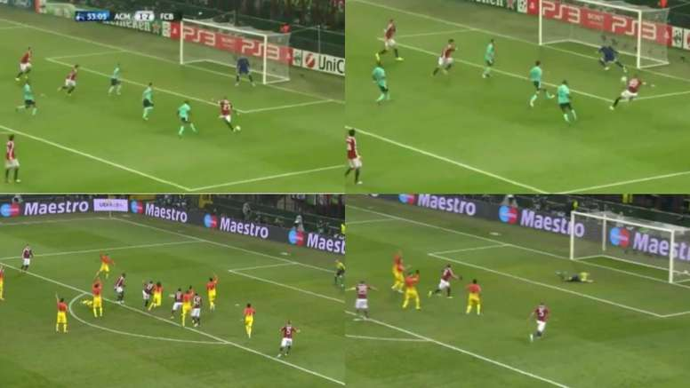Boateng anotó dos goles al Barça. Twitter/FCBarcelona_es