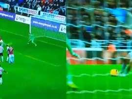 Chicharito anotó un doblete. Captura/DirectTV
