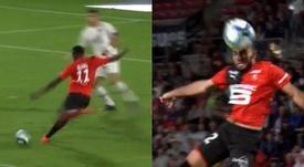 Niang y Del Castillo marcaron los goles. Capturas/#Vamos