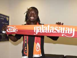 Bafetimbi Gomis is on the verge of a move to Galatasaray. GalatasaraySK