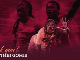 Gomis rejoint Al-Hilal. Twitter/Galatasaray