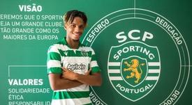 Le Sporting Portugal prolonge Gonçalo Costa. SportingCP