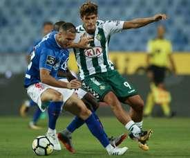 Gonçalo Paciência foi distinguido pelo Sindicato dos Jogadores Profissionais de Futebol. Twitter