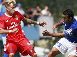 Gonçalo Rodrigues sufrió una rotura del ligamento cruzado anterior de la rodilla. Benfica