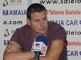 Gordobil abandonó el Leioa por desacuerdos con el club. SDLEIOAoficial