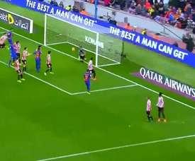 Iraizoz et son erreur au Camp Nou dans le match Barcelone-Athletic dans la saison 2016-17. Youtube