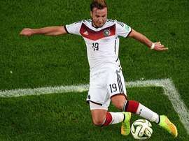 Gotze missed out on a place in Germany's World Cup squad. AFP