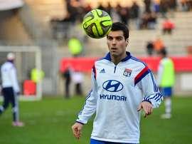 Gourcuff llega libre al Rennes. Twitter