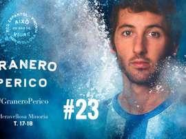 Granero, a nova contratação do Espanyol para a temporada 17-18. RCDEspanyol