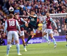 Empate 2-2 en Villa Park. Twitter/BurnleyOfficial