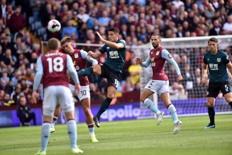 Nul 2-2 au Villa Park. Twitter/BurnleyOfficial