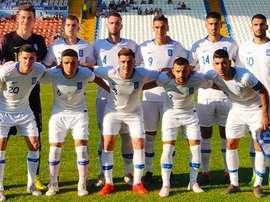 Grecia venció por 5-1 a San Marino y es líder del Grupo 4. EPO