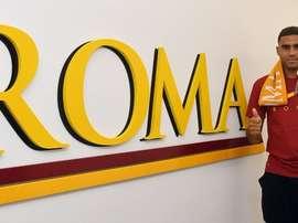 Gol para la Roma. ASRoma