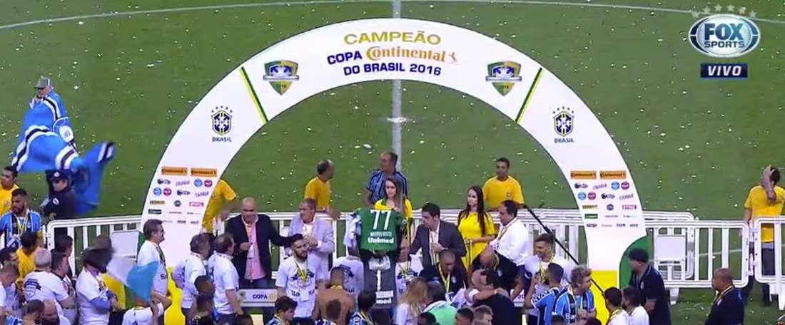 Grêmio desistiu da contratação do atacante Gabriel Fernández. Youtube-FoxSports
