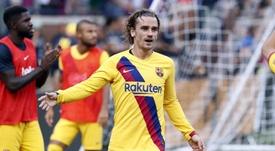 O primeiro gol de Griezmann com a camisa do Barça. FCBarcelona