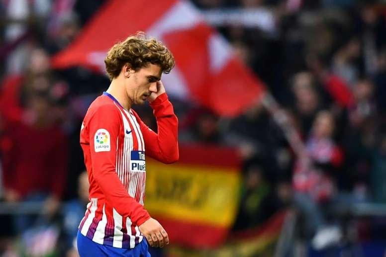 El Madrid no irá a por Griezmann. AFP