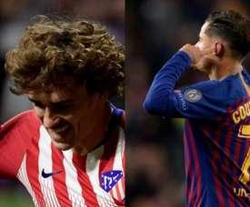 Três assinalados e três esperados no Barça. Montaje/EFE
