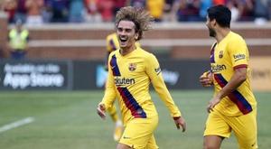 Griezmann e um gol em forma de perdão. FCBarcelona