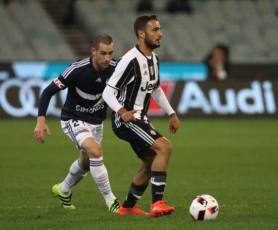 Grigoris Kastanos tampoco tuvo minutos en Bélgica. AFP/Archivo