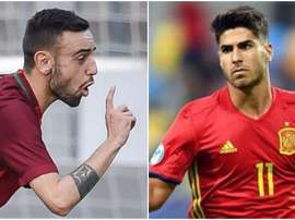 Guedes y Asensio. BeSoccer