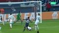 Gueye goleador ante el PSG. Captura/MovistarLigadeCampeones
