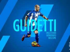 John Guidetti a été prêté par le Celta Vigo à Alavés. Alavés