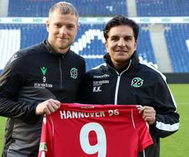 He has signed for Hannover. Hannover96
