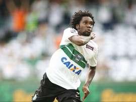 El Coritiba, eliminado de la Copa de Brasil. AFP