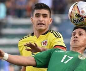 O médio internacional pela Colômbia deve continuar na Liga NOS. EFE