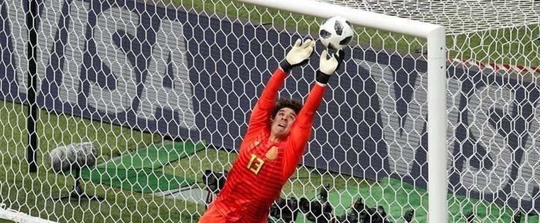 Ochoa is the king of saves. AFP