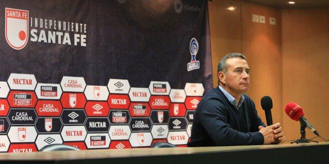Santa Fe busca nuevo entrenador tras el adiós de Sanguinetti. Twitter/SantaFe